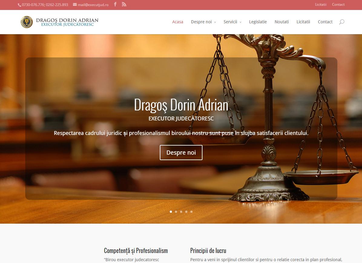 Website Executor Judecatoresc
